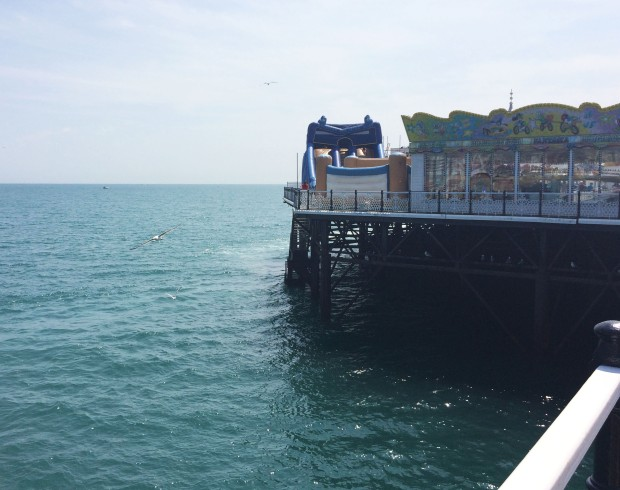 Brighton pier rides