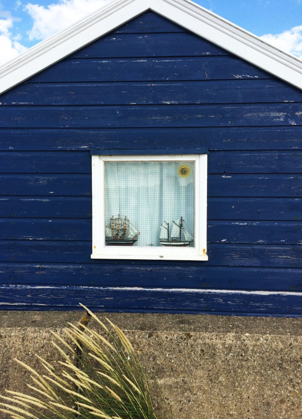 Coast hut window