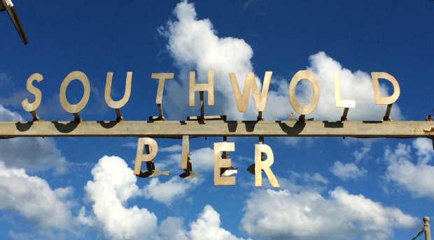 Coast southwold sign