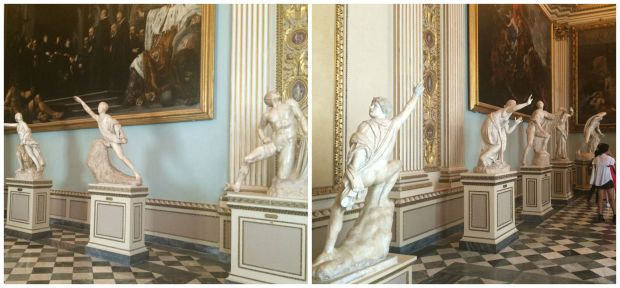 Florence statues collage