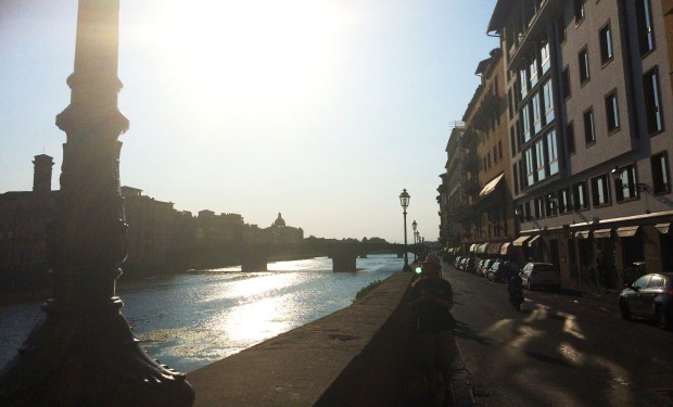 Florence street river
