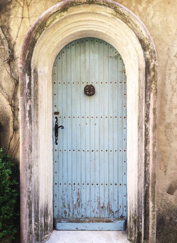 Nice blue door