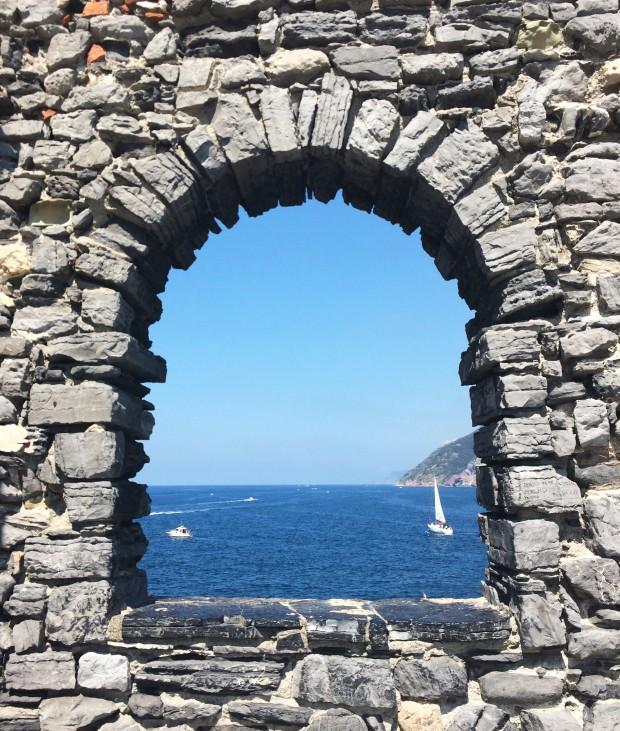 Cinque Portovener window