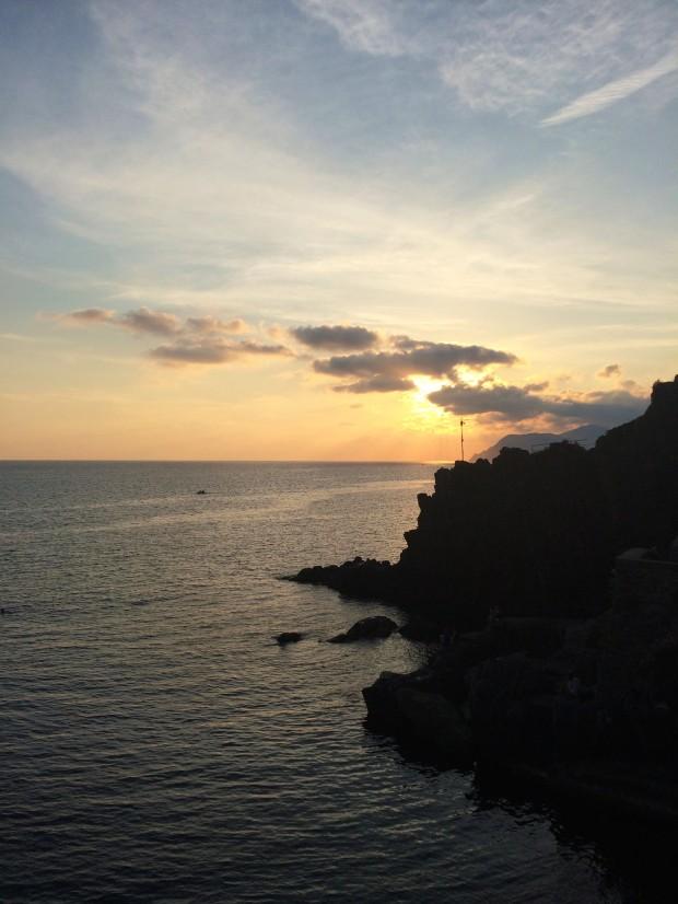 Cinque Riomaggiore sunsets
