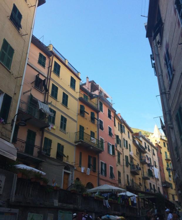 Cinque Riomaggiore town