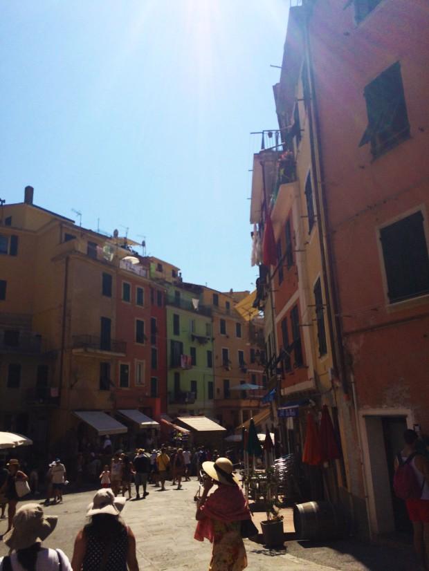 Cinque Vernazza street