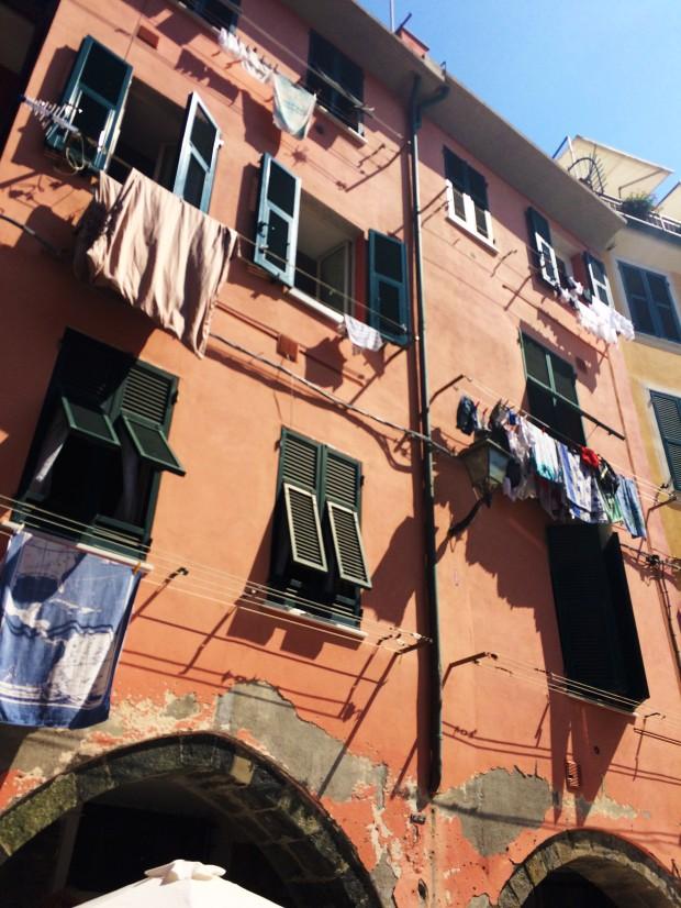 Cinque Vernazza windows