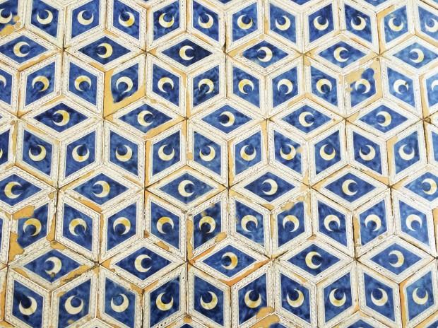 Siena duomo court tiles