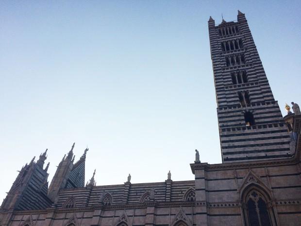 Siena Duomo side