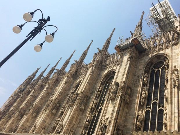 Milan duomo lamp