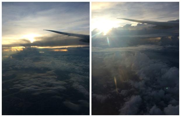 Milan plane collage