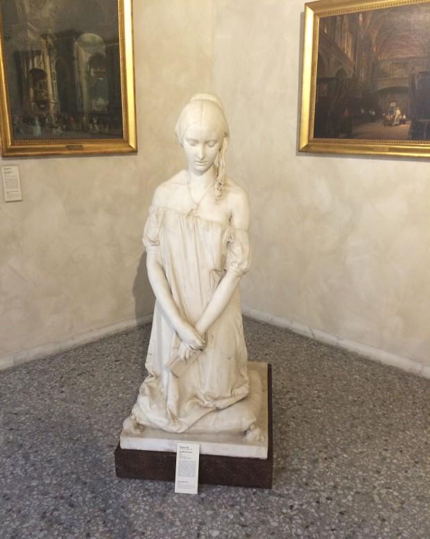 Milan statue